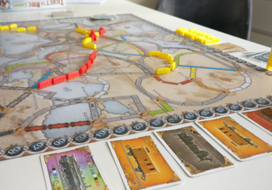 Ticket to ride kort