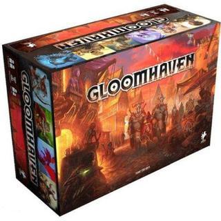 Gloomhaven boks samarbejdsspil