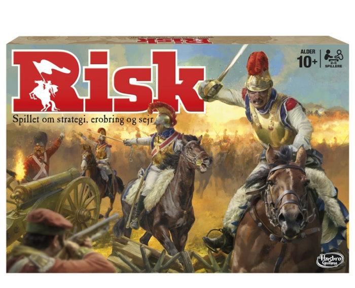 Risk brætspil original