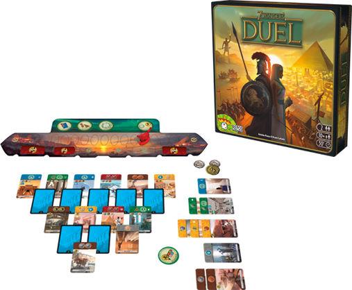 7 Wonders duel brætspil for 2