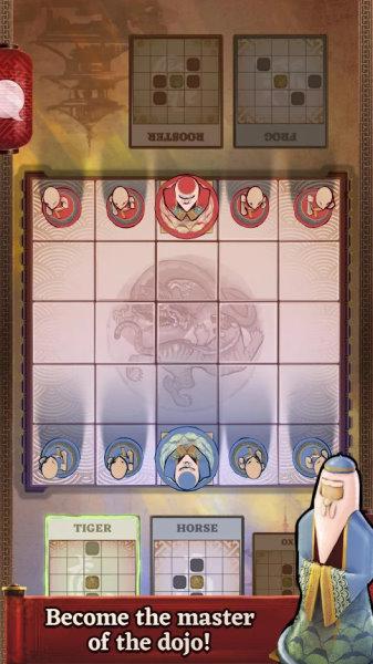 Onitama gratis online brætspil