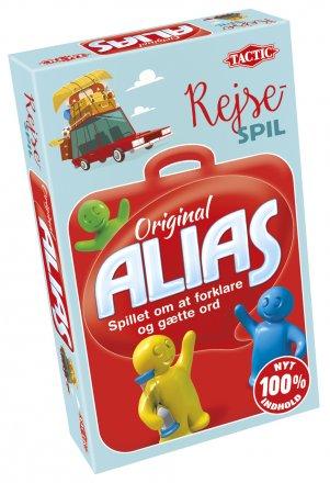 Alias brætspil til rejsen
