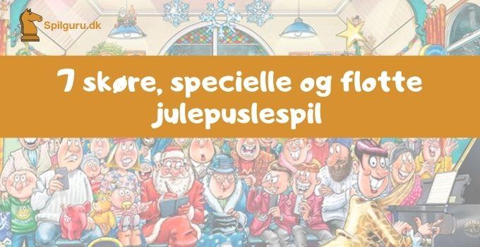 7 flotte sjove julepuslespil til familie