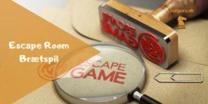 Escape room brætspil overblik