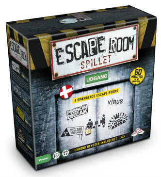 escape room spillet