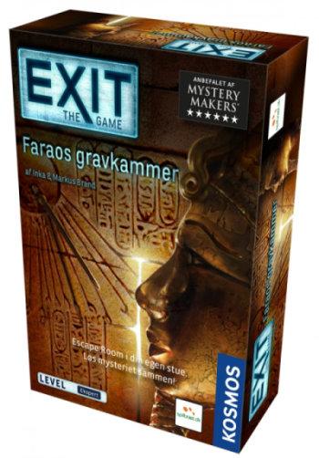 Faraos gravkammer Exit escape room brætspil