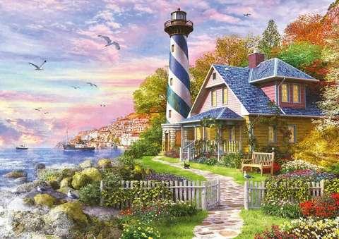 Puslespil til voksne, Lighthouse in Rock Bay.