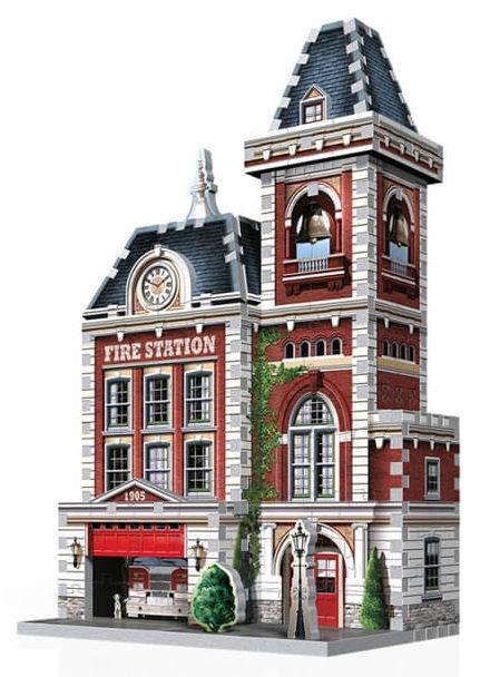 firestation 3d puslespil brandstation