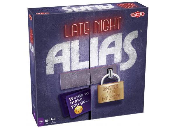 alias late night brætspil til voksne