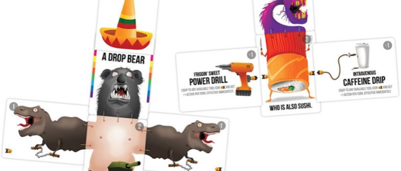 Bears Vs Babies sjove brætspil