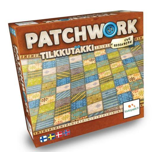 Patchwork brætspil for 2
