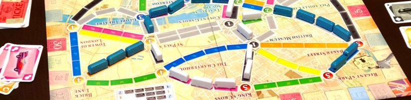 ticket to ride london